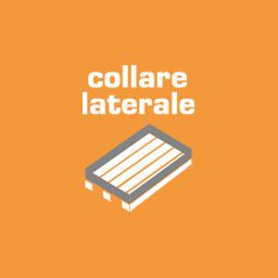 Folding side collar for pallet