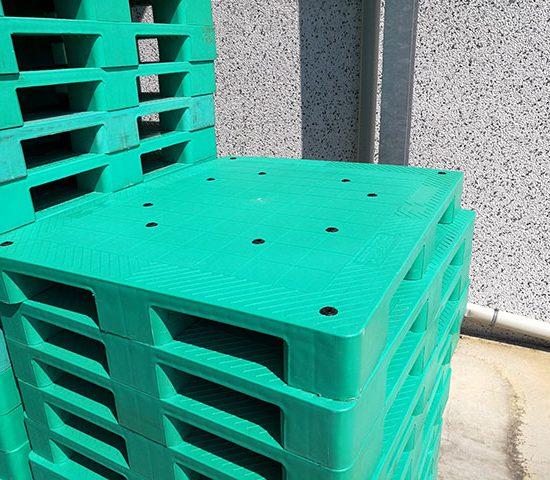 Pallet 1200×1000 – Verde – 9 Piedi