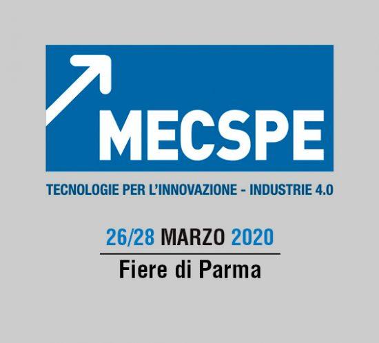 MECSPE – Parma 2020 March  26 – 28
