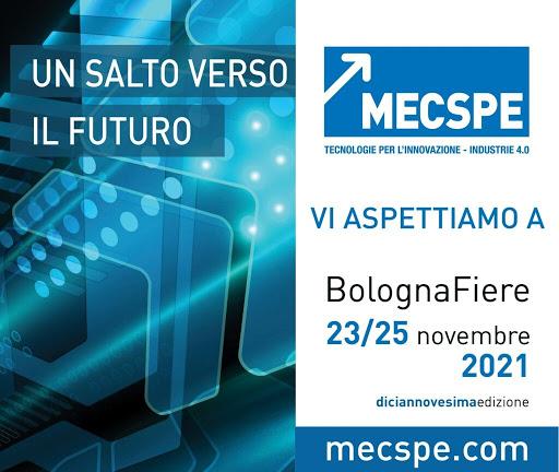 MECSPE – Bologna 23-25 november 2021