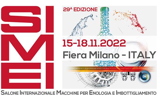 SIMEI – MILANO – 15-18 NOVEMBER 2022